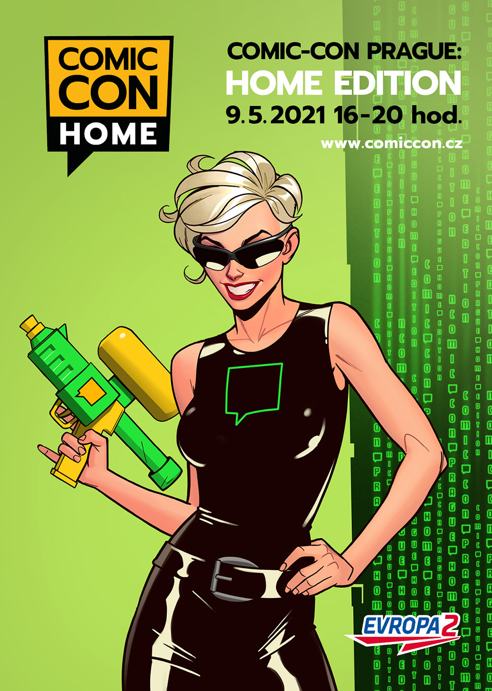 Comic-Con Home